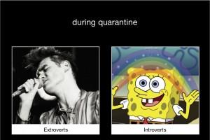 during quarantine